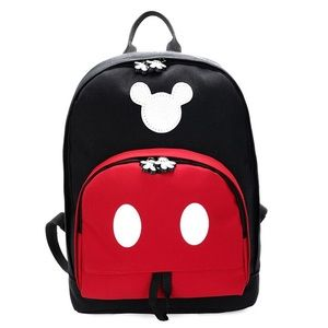 Mickey Mouse Backpack Diaper Bag Travel Bag